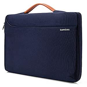"""tomtoc 360° Protective Laptop Sleeve Case Fit for 15"""" Old MacBook Pro Retina   Dell XPS 15   Microsoft Surface Book 2, Fit up to 14.13 x 9.87"""