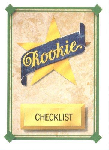 1989 Upper Deck # 27 Star Rookie Checklist - MLB Baseball Trading Card