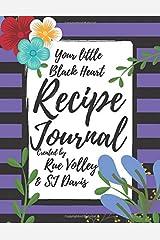 Your little Black Heart Recipe Journal Paperback
