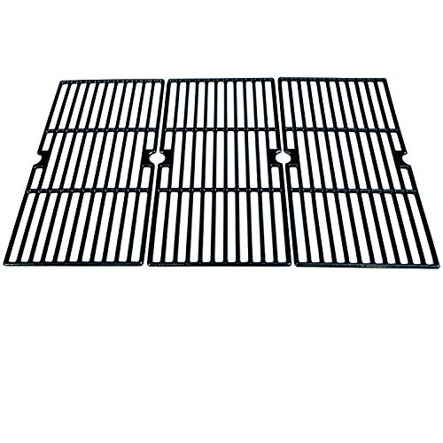 - Direct store Parts DC121 Polished Porcelain Coated Cast Iron Cooking Grid Replacement Charbroil,Kenmore,Master Chef Gas Grill