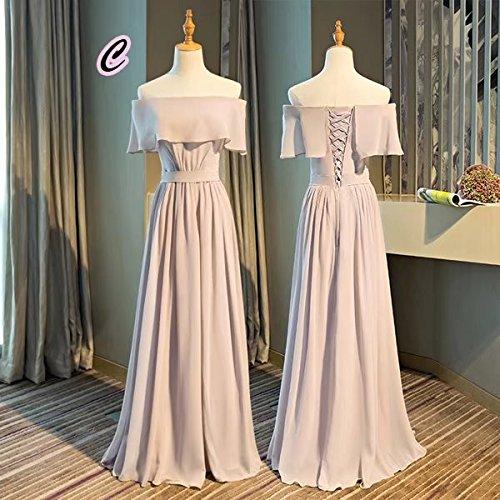 めまい遡る手伝う【ノーブランド品】パーティドレス 全5タイプ ロングドレス 体型カバー 大人 ライトピンクドレス 大きいサイズ 二次会 結婚式 ワンピース 20代 30代 40代 レディース