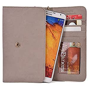 Kroo Handbag Clutch Wallet Case with Matching Wrist Strap for Gionee Elife S5.5 - Many Colors Available