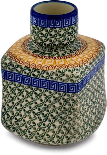 Polish Pottery 6-inch Vase Made by Ceramika Artystyczna (Grecian Sea Theme) + Certificate of Authenticity