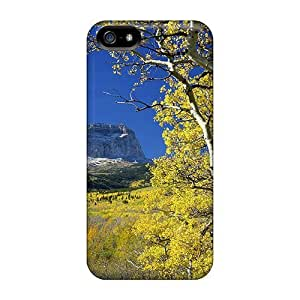 Cute Appearance Cover/tpu Colorado Fields Case For Iphone 5/5s