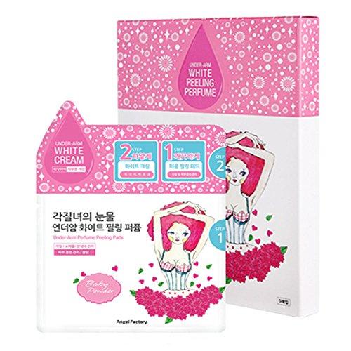 AngelFactory Under-Arm White Cream Perfume Peeling Pads by AngelFactory