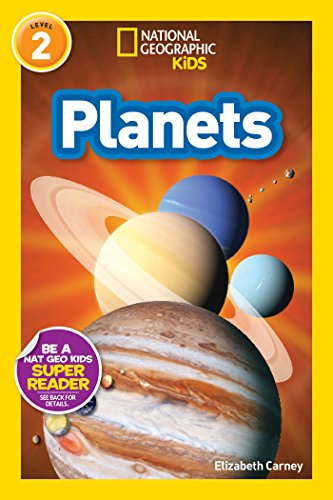 Kids Illustrated Letter (National Geographic Readers: Planets)