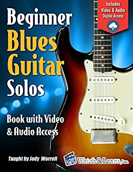 Beginner Blues Guitar Solos Book - Video & Audio Access