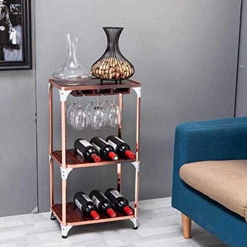 Bedler CYF-065 Wine Cork Storage Bottle Wine Cork Holder Wine Glass Cork Holder Metal Home Wine Rack Cork Storage Wine Cork Basket Rack for Kitchen Wine glass cork holder