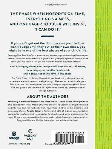 Parenting Your Two Year Old A Guide To Making The Most Of I Can Do It Phase Kristen Ivy Reggie Joiner 9781635700398 Amazon Books