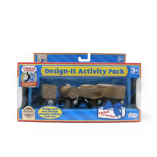 Thomas And Friends Wooden Railway - Design-It Activity -