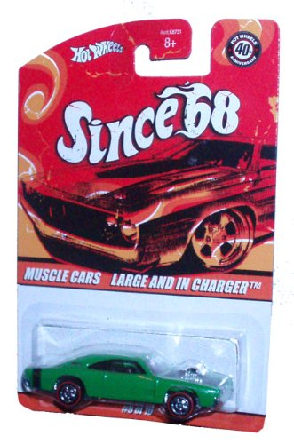 Amazon Com Hot Wheels 40th Anniversary Since 68 Muscle Cars Series