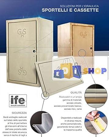 Caja Kit Contador Agua 60 x 40h cm, acc. galvanizado.: Amazon.es: Bricolaje y herramientas