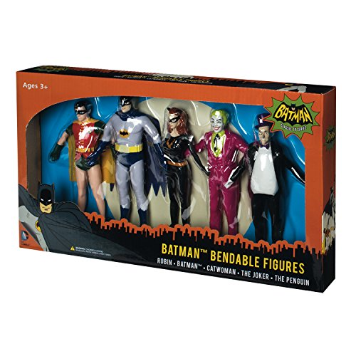 NJ Croce Batman Bendable Boxed Set