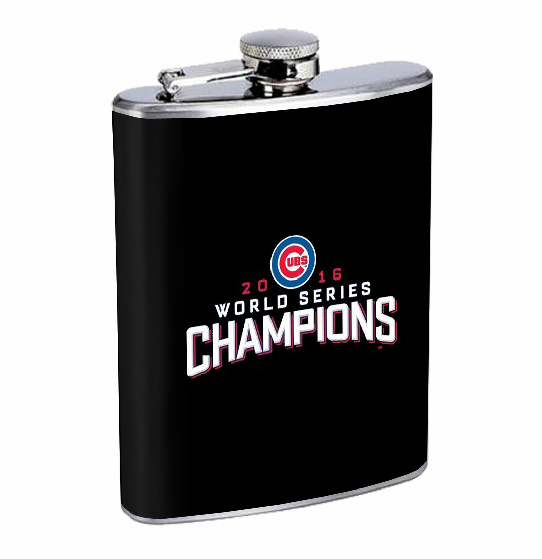 正規品販売! Chicago Champs Whiskey 240ml Stainless Steel Flask Steel Drinking Whiskey Drinking B01N9A2QQZ, ラブエンバシー:346e6b1c --- a0267596.xsph.ru