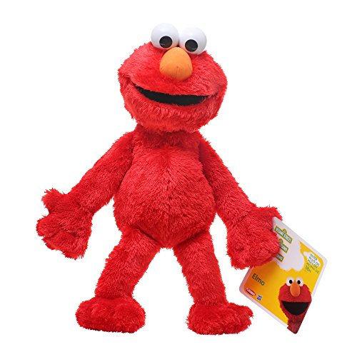 New Playskool Sesame Street Big Hug Elmo Plush Toy Let Plush Play