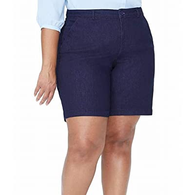 NYDJ Women's Plus Size Bermuda Shorts at Women's Clothing store