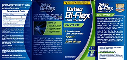 030768330491 - Osteo Bi-Flex One Per Day, 30 Coated Tablets carousel main 1