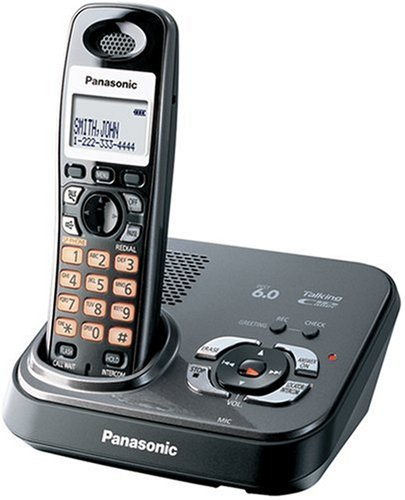 amazon com panasonic dect 6 0 expandable digital cordless rh amazon com Panasonic Kx Instruction Manual Panasonic Kx Cordless Phone Manual