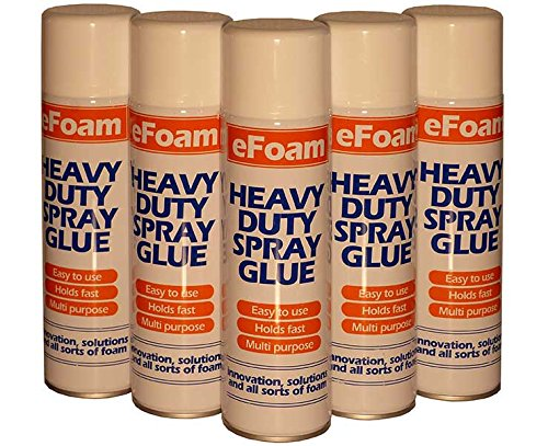 ALL PURPOSE HEAVY DUTY FOAM/CARPET ADHESIVE SPRAY 500ML EFOAM