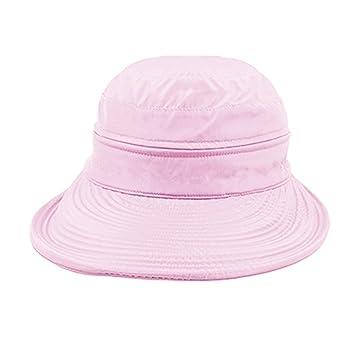 RUIXIA sombrero de sol grande visera plegable superior anti-UV de verano  playa protección solar aae52d33c24