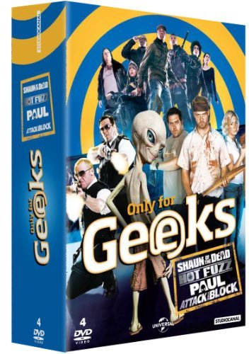 Only for Geeks - Coffret - Shaun of the Dead + Hot Fuzz + Paul + Attack the Block