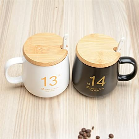 10 Styles Ceramic Cup Ceramic Mug Office Coffee Cup Milk Cup Couple Cute Mugs With Lid And Spoon It Coffee Mugs Large Christmas Mugs From