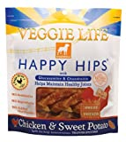 Dogswell Veggie Life Happy Hips, Chicken and Sweet Potato, Treats For Adult Dogs, 15-Ounce, My Pet Supplies