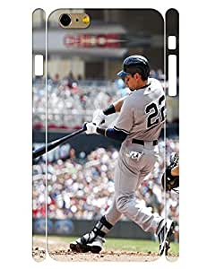 Rich-colored Collection Mobile Phone Case Charming People Baseball Athlete Image Back Case Cover for Iphone 6 Plus (5.5) Inch (XBQ-0038T) wangjiang maoyi