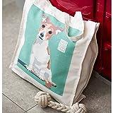 JACK TERRIER Dog Design COTTON TOTE BAG - Ulster Weavers - Reusable Shopping Bag, College, School