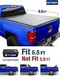 Tyger Auto Tg-bc3c1007 Tri-fold Truck Bed Tonneau Cover 2014-2018 Chevy Silverado / Gmc Sierra 1500; 2015-2018 Silverado Sierra 2500 3500 Hd | Fleetside 6.5' Bed | For Models W/o Utility Track System
