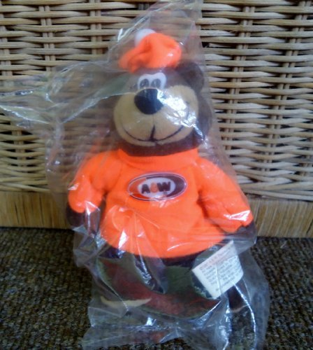 A&W Rootbear Bear Bean Bag Collectible by Alpha Industries ()