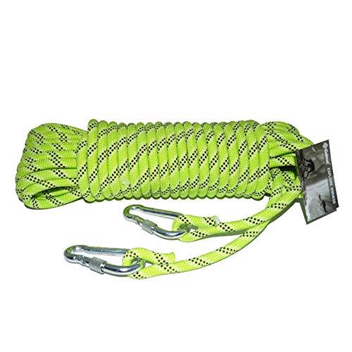 アナニバー懐疑論レコーダーセーフティエスケープ装置ロープ蛍光多機能自照ルミナスロープ径12MMガイドロープ警告ロープアウトドアクライミングハイキング (色 : A, サイズ : Diameter 12 mm/10M)