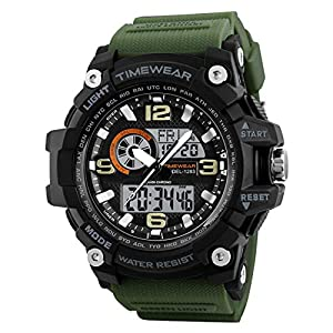 TIMEWEAR Commando Series Analog Digital Sports Watch for Men