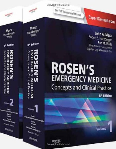 (2-Volume Set) Rosen's Emergency Medicine - Concepts and Clinical Practice : Expert Consult Premium Edition - Enhanced O
