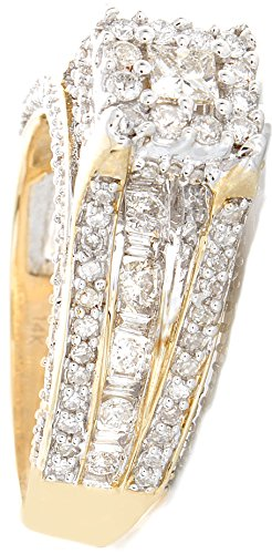 1.42 CT Excellent Cut Round Diamond (H-1 color, i1-i2 Clarity) in 10K Gold Fashion Ring by Zacks Fine Jewelry (Image #2)