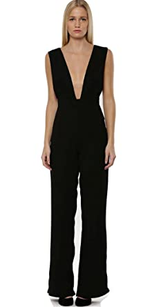 9410bb7242f Melika M Ladies Lipsy Plunging V-Neck Jumpsuit. RRP  £65. Size 12 ...