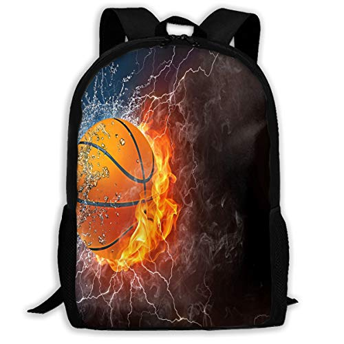Backpack Basketball Ball Womens School Hiking Backpack Great Gift
