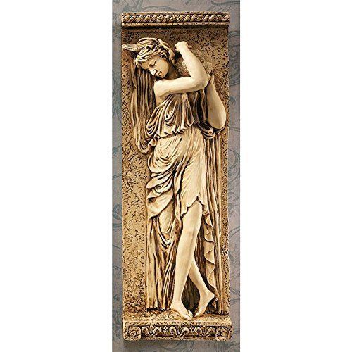 Design Toscano Water Maidens Seine Wall Frieze in Antique Stone ()