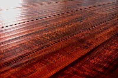 Laminate Flooring Brazilian Cherry 12.3mm Thickness