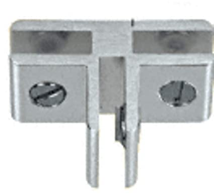 Chrome 2-Way 90 Degree Clamp