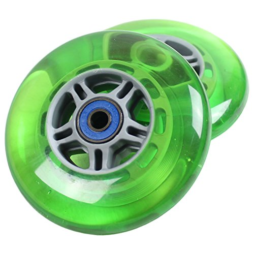 Green Razor (UPGRADE WHEELS for RAZOR SCOOTER Green ABEC 7 BEARINGS)