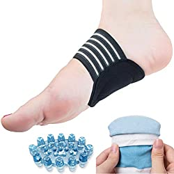 DR JK Plantar Fasciitis, Heel Socks, Arch Support and Foot Massager PedPal Kit for Women and Men