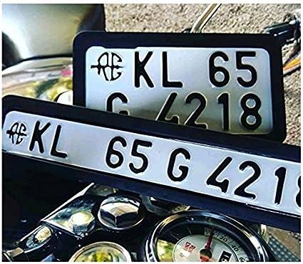 Movell WV001RCA0164 Bike Number Plate Frame