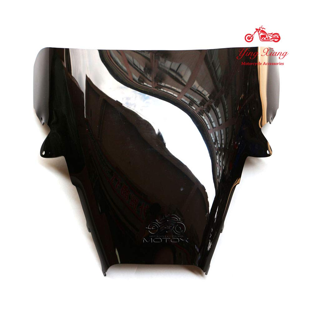New Black Windshield Windscreen Fit For Honda VFR800 1998-2001 99 00 Motorcycle