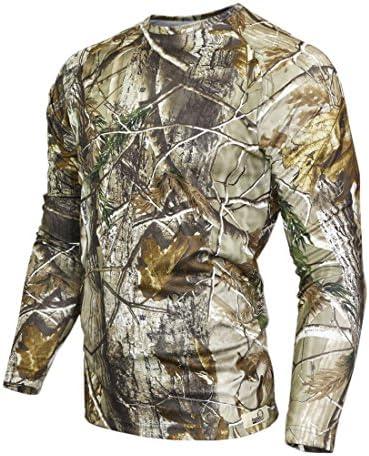 Raptor Hunting Solutions Herren Realtree AP Camo T-Shirt Langarm