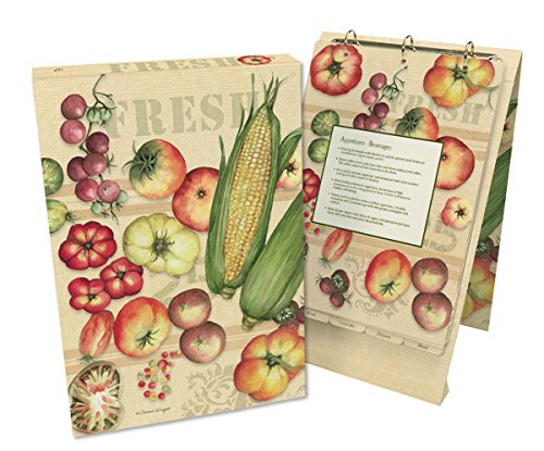 Lang 2016002 Fresh From The Farm Vertical Recipe Card Album by Susan Winget, Assorted