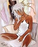Reproduction d'art 'Matin Pour Elle', de Pierre Farel, Taille: 40 x 50 cm