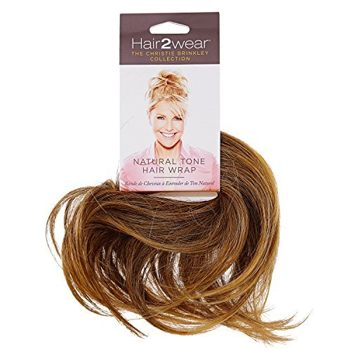 (Hair2wear, Light Blonde Natural Tone Hair Wrap)