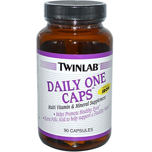 - Twinlab, Daily One Caps, Without Iron, 90 Capsules - 2pc