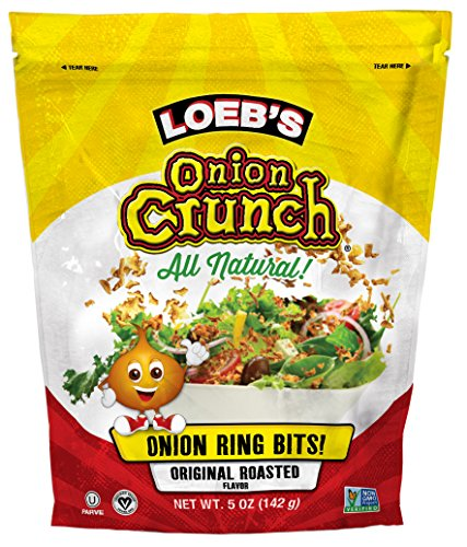 Loeb's Onion Crunch, 5-Ounce (Pack of 6) by LOEB'S